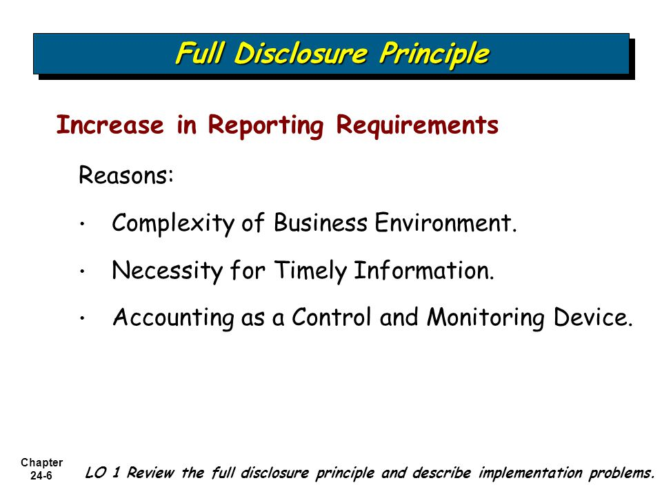 full disclosure in financial reporting Financial disclosure i am a filer general information download a form full and public disclosure of financial interests for the calendar year 2017 [more code of judicial conduct, gift disclosure form & canon 6c, code of judicial conduct, report of business interests form 6f.