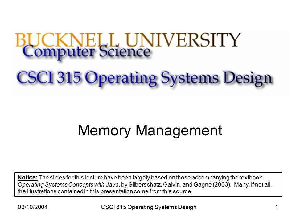 Csci 315 operating systems design ppt video online download csci 315 operating systems design fandeluxe Image collections