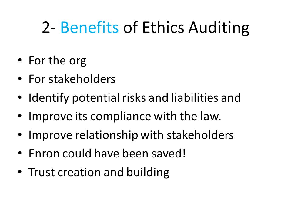 Auditors Role in Enron