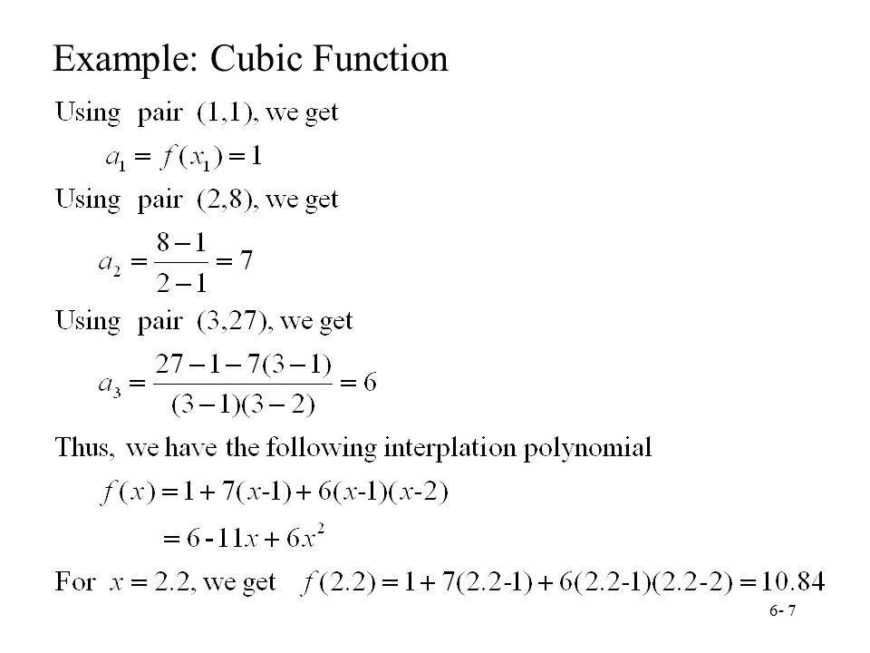 Chapter 6 Numerical Interpolation - ppt video online download