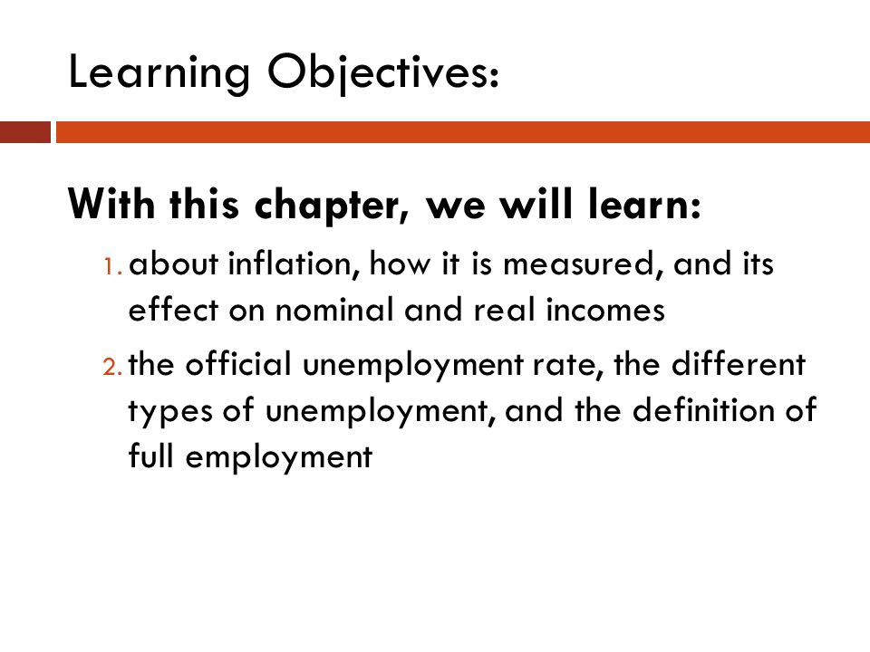 Learning Objectives: With this chapter, we will learn: