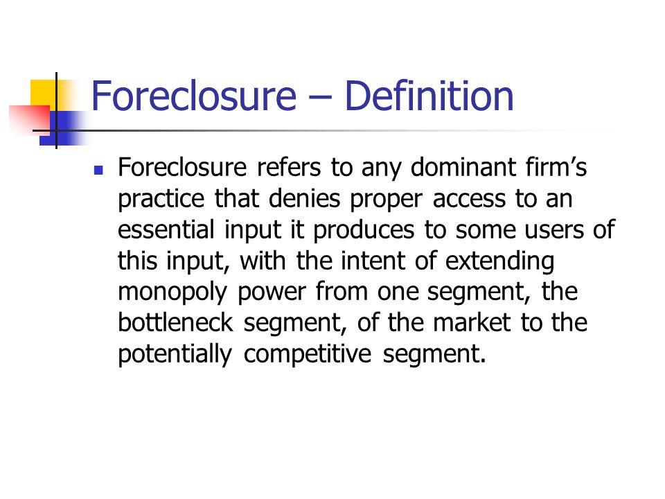 5 Foreclosure U2013 Definition