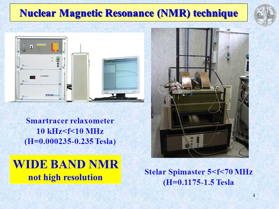 Nuclear Magnetic Resonance (NMR) technique
