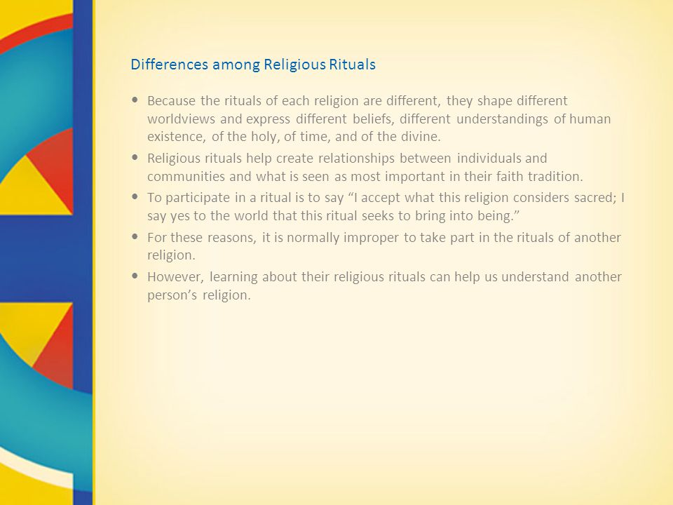 the different views of the divine among various religions This paper is an attempt to highlight how various faiths and religions can contribute to the building of tolerance in the world at large.