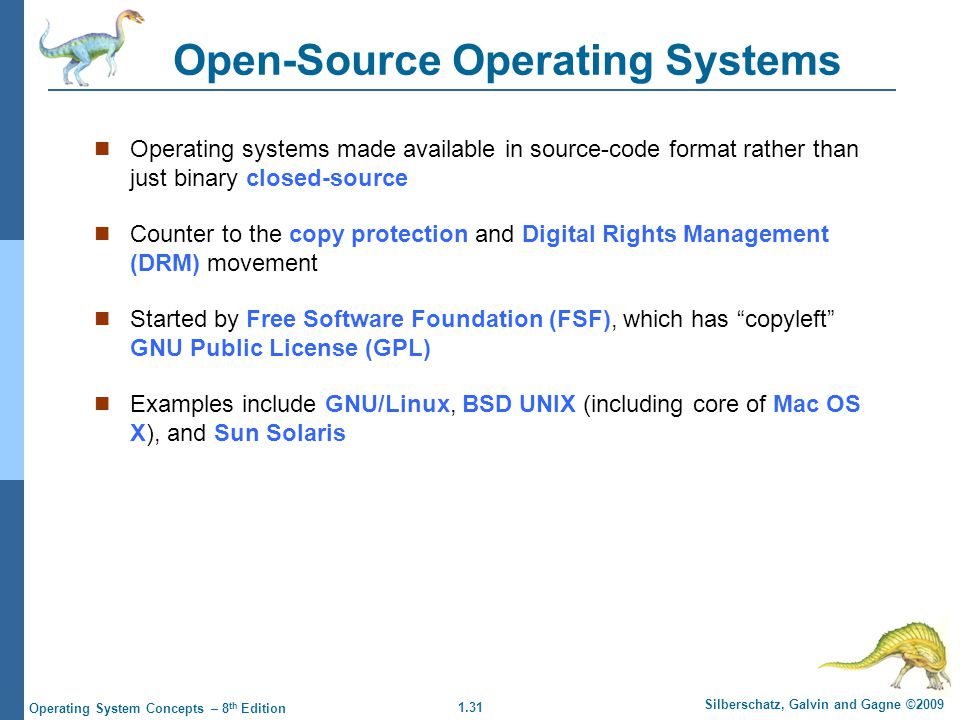 Open-Source Operating Systems