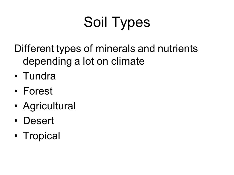 Microbes minerals and soil ppt video online download for Minerals present in soil