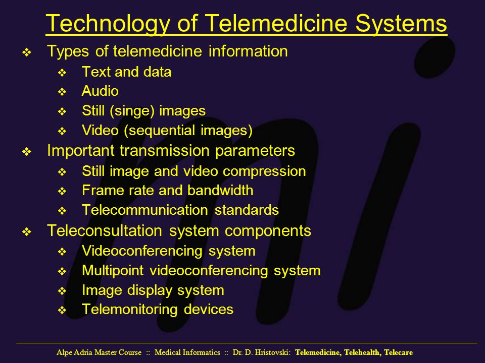 Telemedicine Telehealth Telecare Ppt Video Online Download