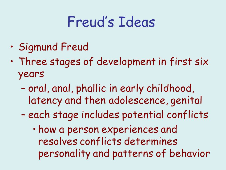 human growth and development sigmund freud Classical developmental theories, such as freud's, piaget's, erikson's, etc human growth (physical) from 0 to 16 yrs maturation processes human reproduction and pregnancy, including substance abuse emotional and social development, including relationship to parents, siblings, and peers (including issues of child.