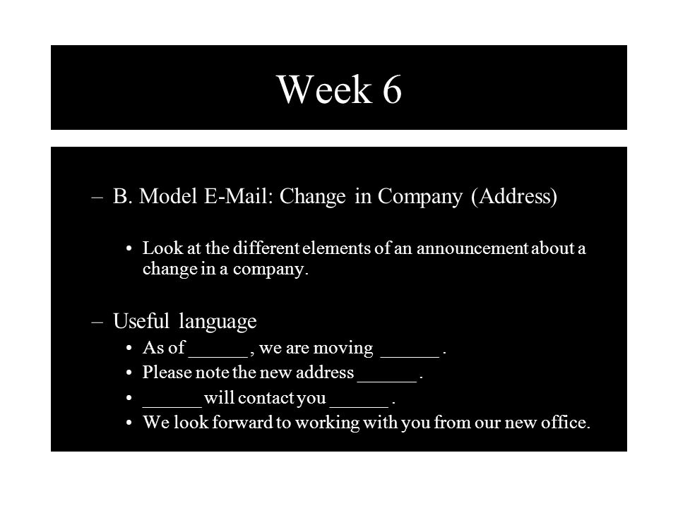 week 6 writing customer relations letters ppt download. Black Bedroom Furniture Sets. Home Design Ideas