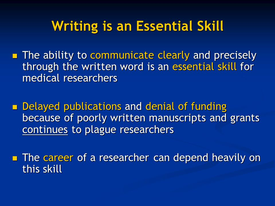 essentials of writing biomedical research papers How to write autobiography essay essentials of writing biomedical research papers second edition research proposal on wireless communication travel and tourism essays.
