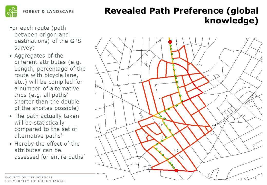 Revealed Path Preference (global knowledge)
