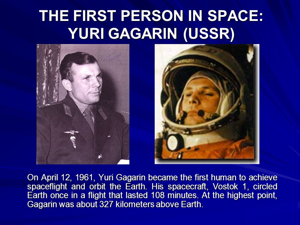 how was responsible for yuri gagarin in space flight - photo #28
