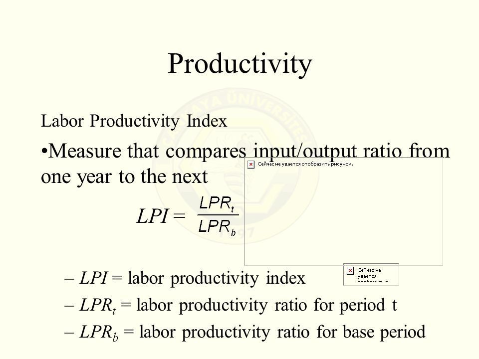 Overall Sales and Productivity