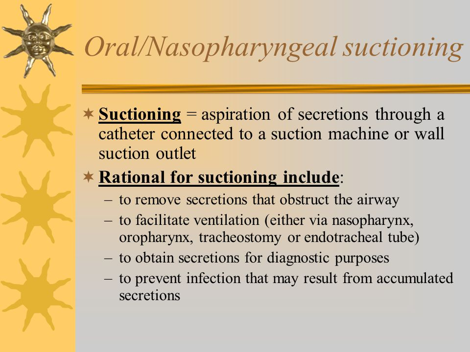 suction machine for tracheostomy