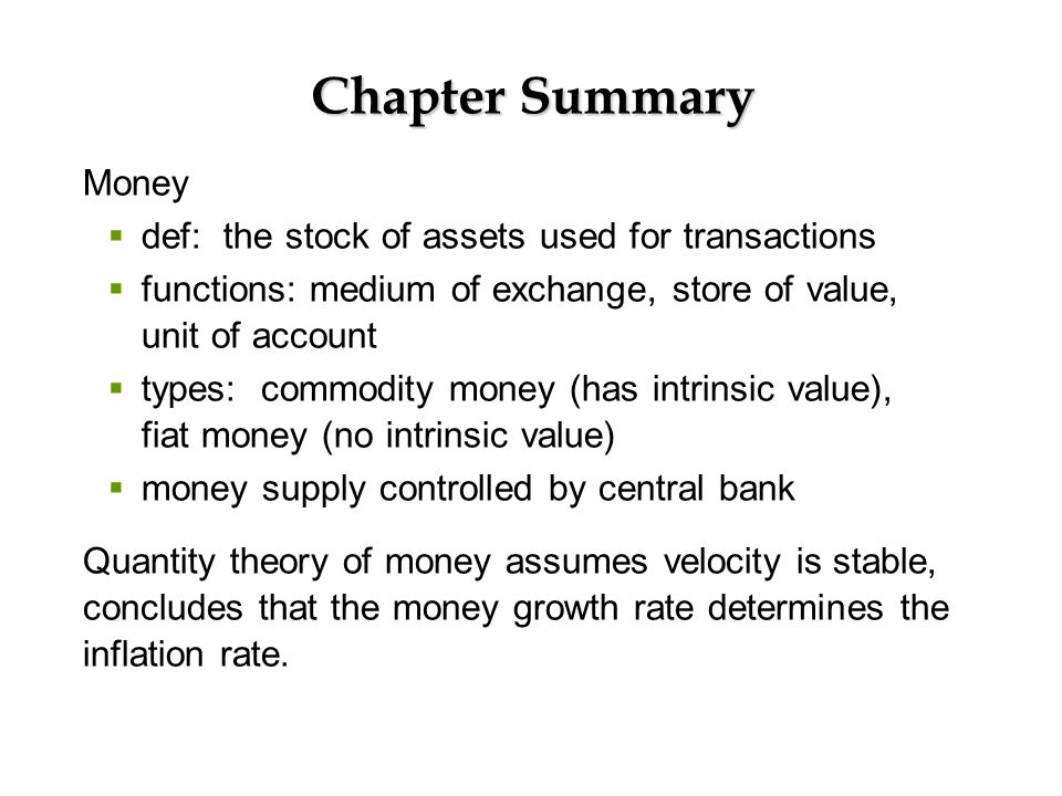 a summary of inflation What causes inflation how does it affect your investments and standard of living this tutorial has the answers.