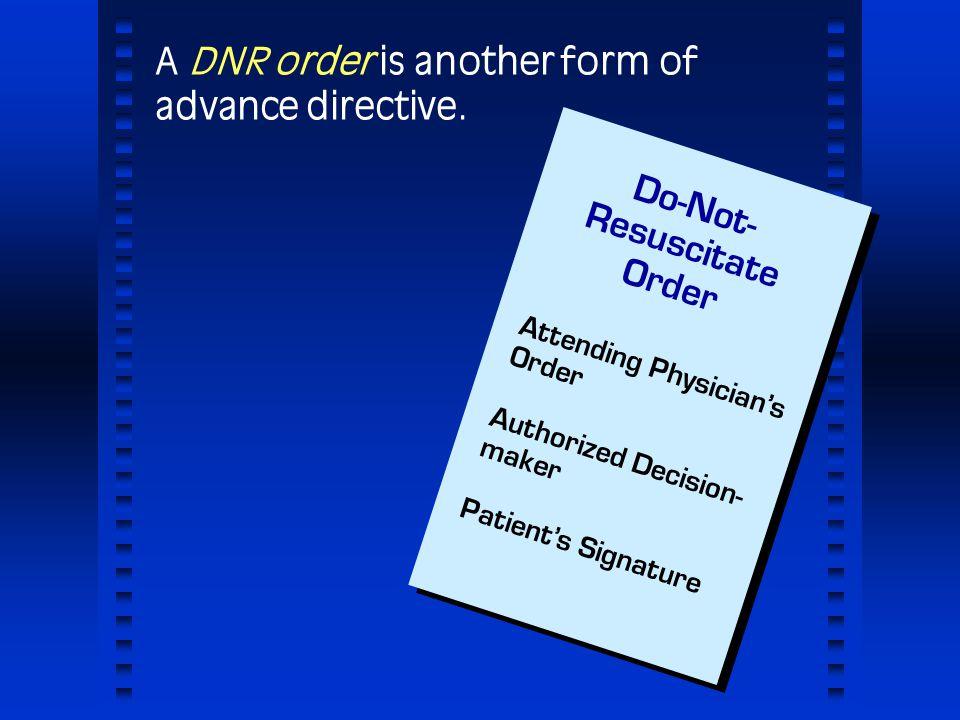 dnr order