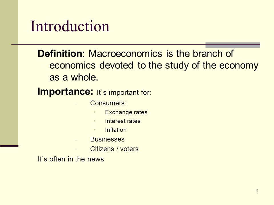 Why do people study macroeconomics? - Quora