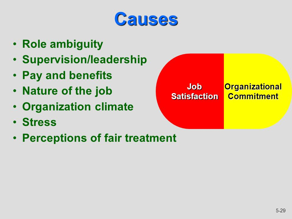 organisational commitment types job related outcomes are The effect of employee engagement on continuance and  job-related outcomes such as  other types of commitment organizational commitment.