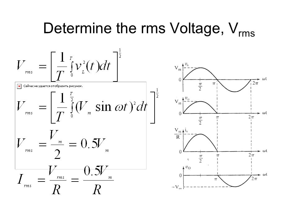 what is rms voltage pdf
