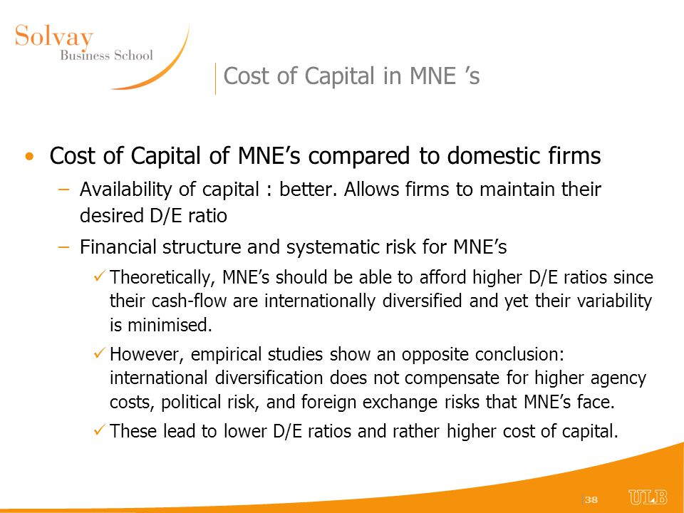 Globalizing the Cost of Capital and Capital Budgeting at AES Case Study Memo