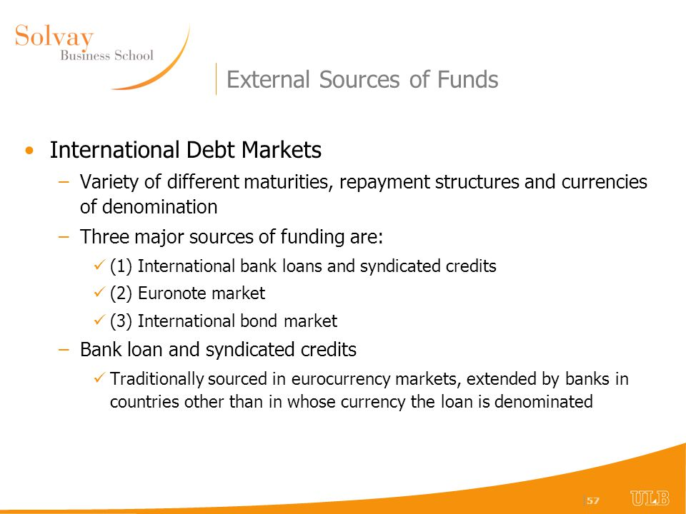 external risk sources for banks External events that lead to external risk cannot be controlled by any one company or cannot be forecasted with a high-level of reliability therefore, it is hard to reduce the associated risks.