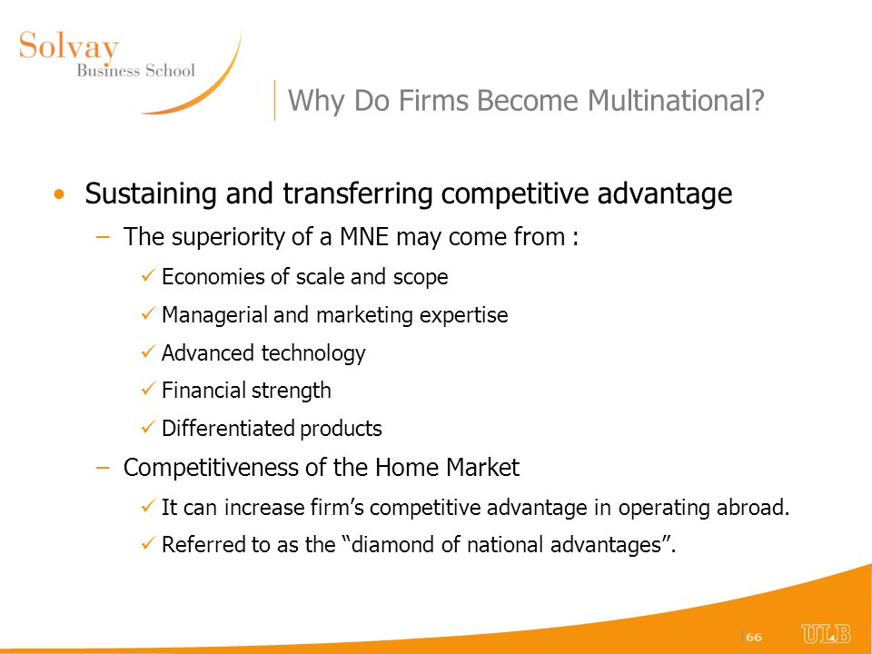 explain why and how firms become multinational enterprises Commentary: why and how can multinational enterprises be value-creating organizations.