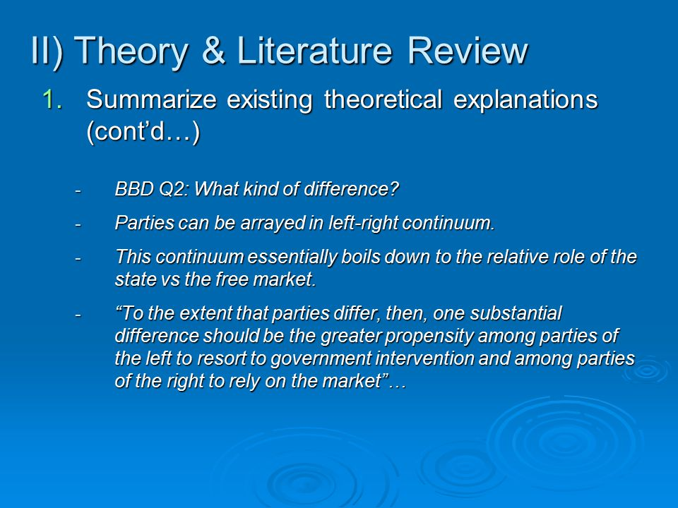 literature review for marketing research paper To conduct research, literature reviews can give you an overview or act as a stepping stone for professionals a literature review, like a term paper.