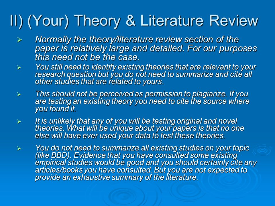 literature review expectancy theory
