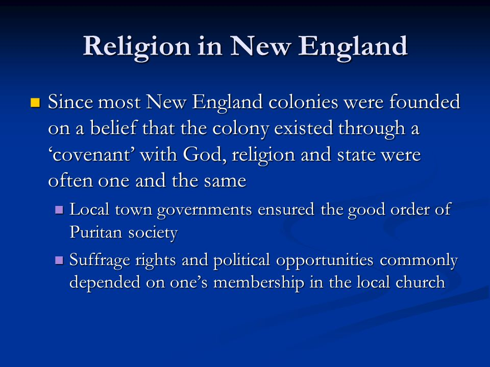 a comparison of the puritans and the southerners Like the pilgrims, the puritans were english protestants who believed that the  reforms of the church of england did not go far enough in their.