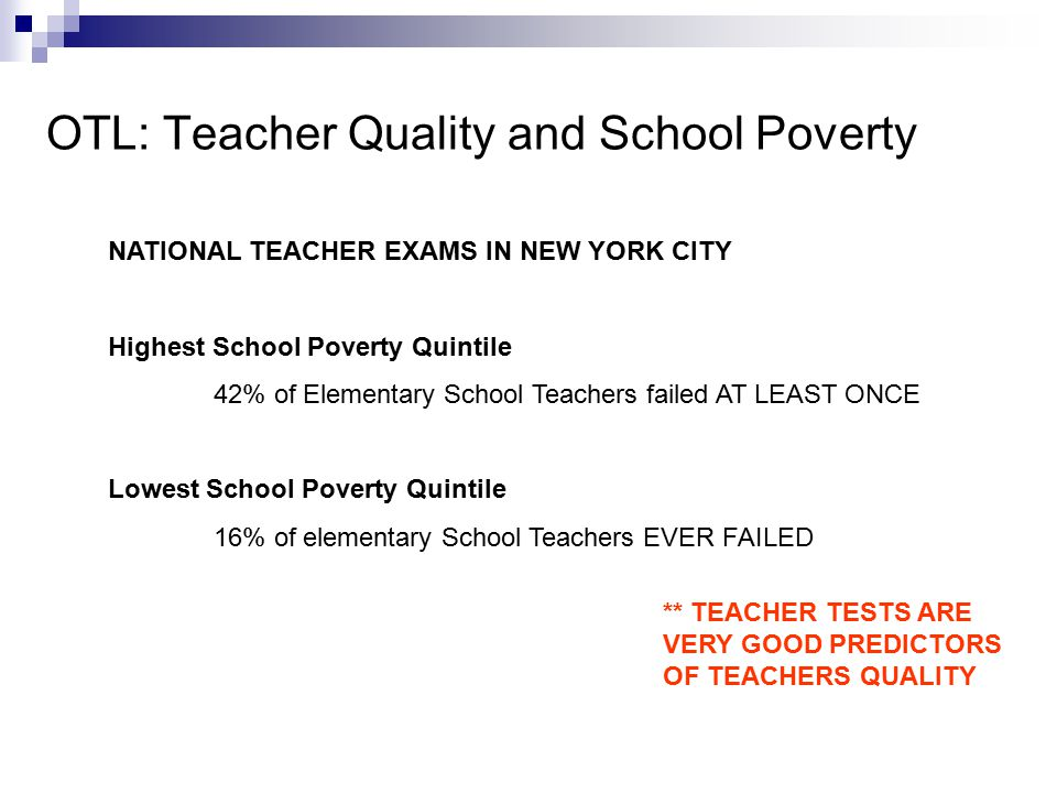 poverty and quality Teaching with poverty in mind by eric jensen table of contents chapter 2 how poverty affects behavior and academic performance  quality assessment is essential.