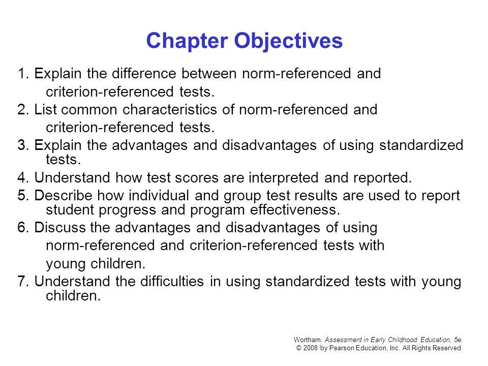 standardized testing disadvantages A major disadvantage of standardized testing is that educatorscater their instruction to pass the tests.
