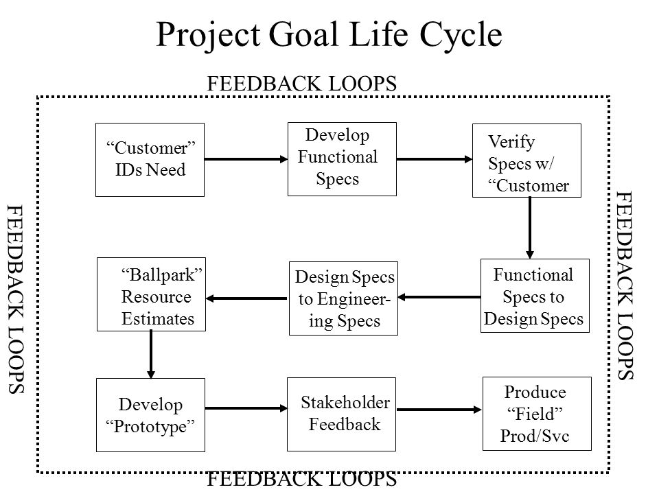 Project Goal Life Cycle