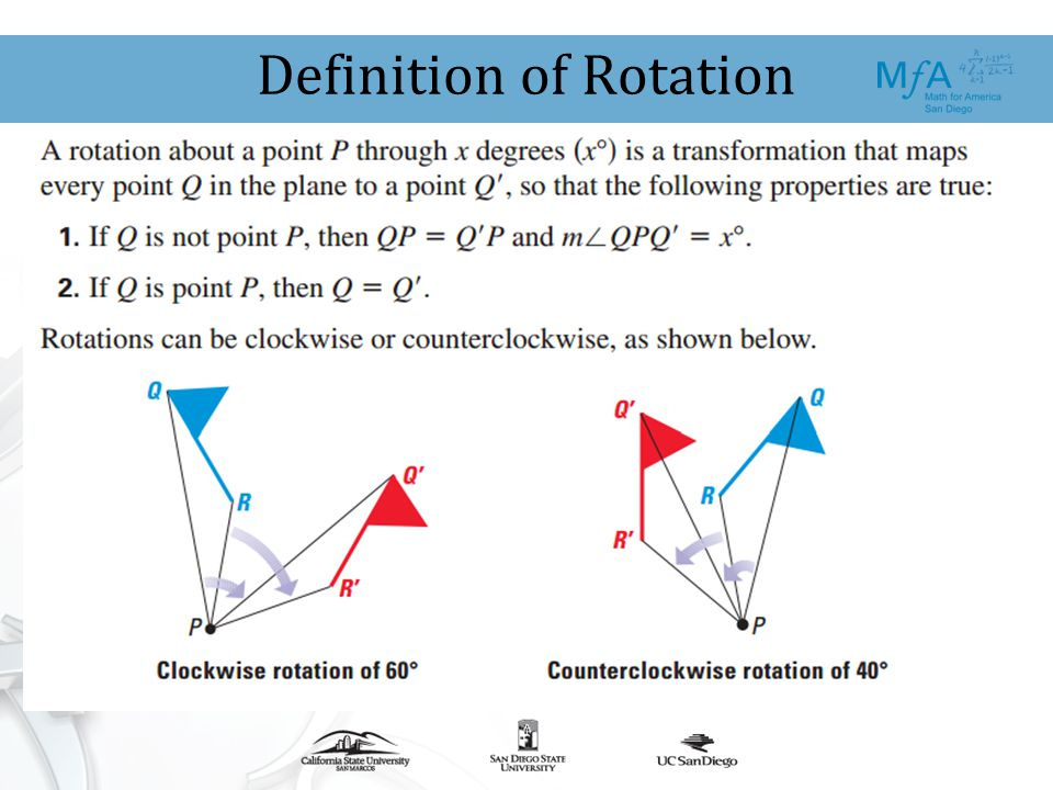 Preparing for Transformational Geometry in High School ...