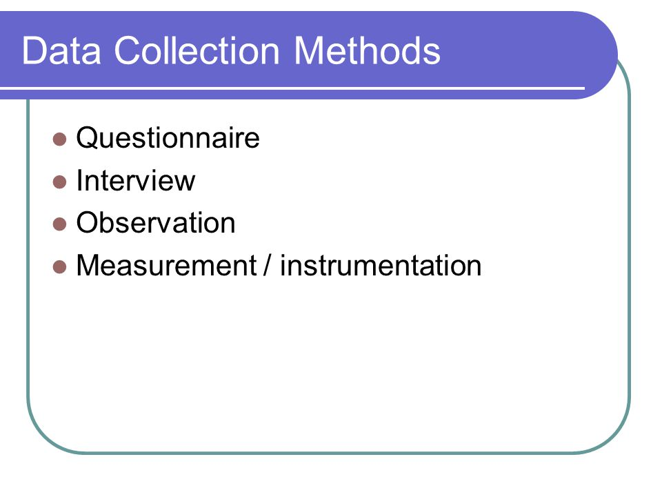 questionnaire method of data collection pdf