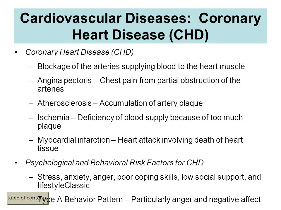 facts on the factors that affect coronary heart disease According to the american heart association, these are the leading factors that  put you at risk for coronary artery disease or a heart attack.