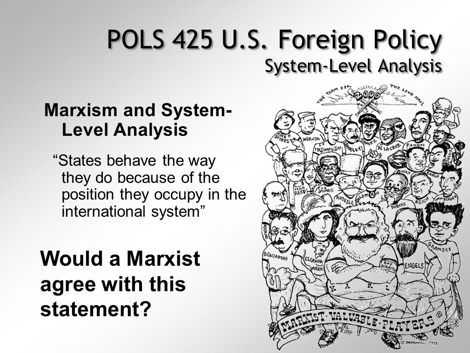 level of analysis in foreign policy pdf