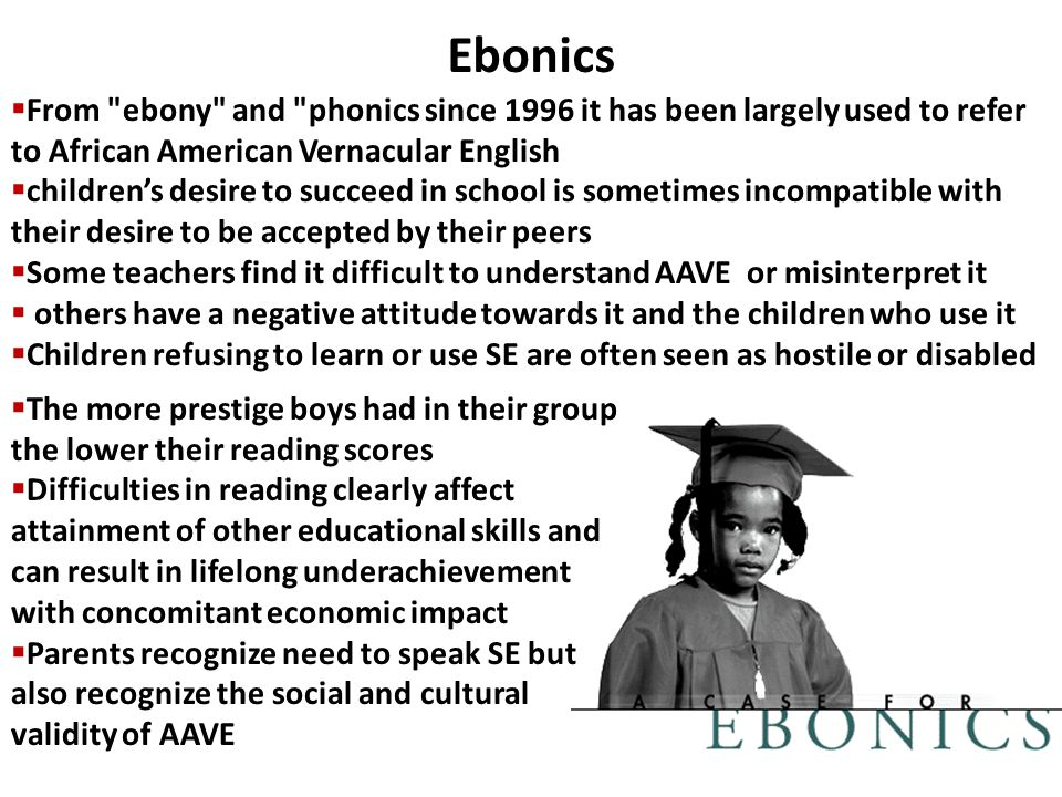 understanding ebonics and its roots from african americans African american cultural considerations in standardized testing  african american cultural considerations in standardized testing  african americans,.