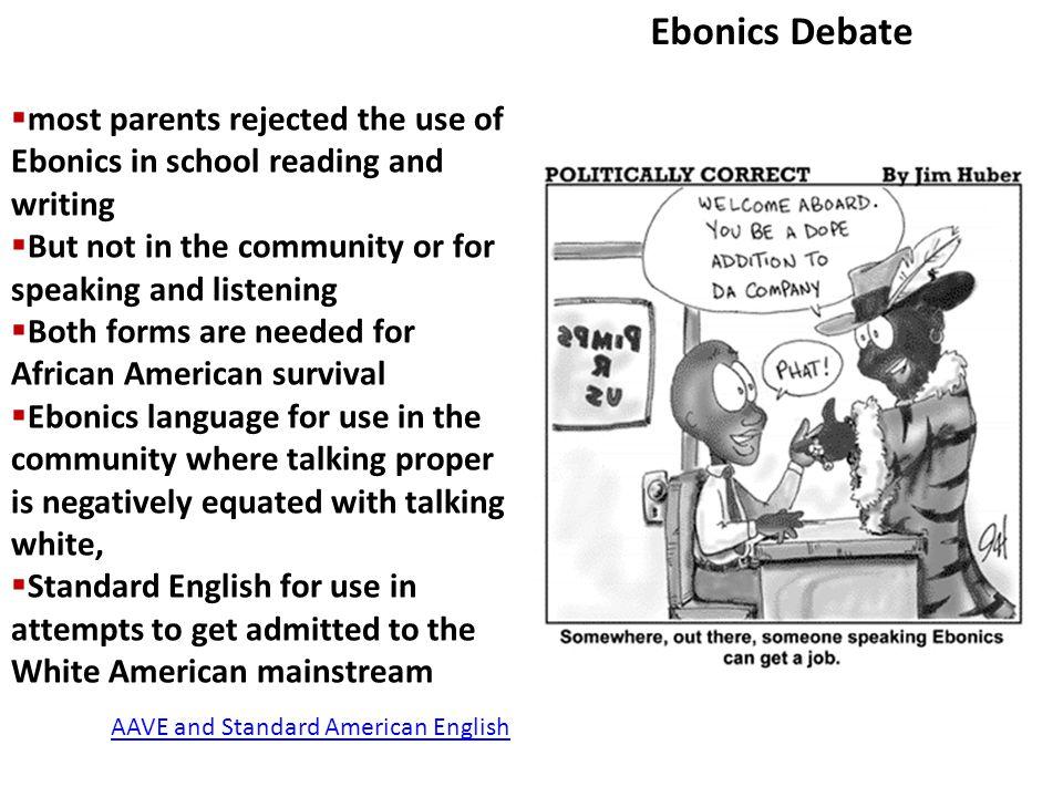 ebonics examples