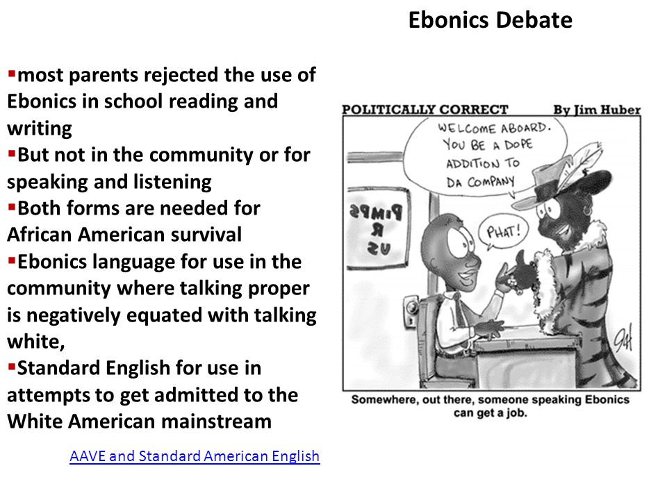 standard english debate Standard english (se, also standardized english, sometimes capitalized) refers to whatever dialect (variety) of english language is used as the national norm – standard language – in an english-speaking country, especially as the language for public and formal usage.