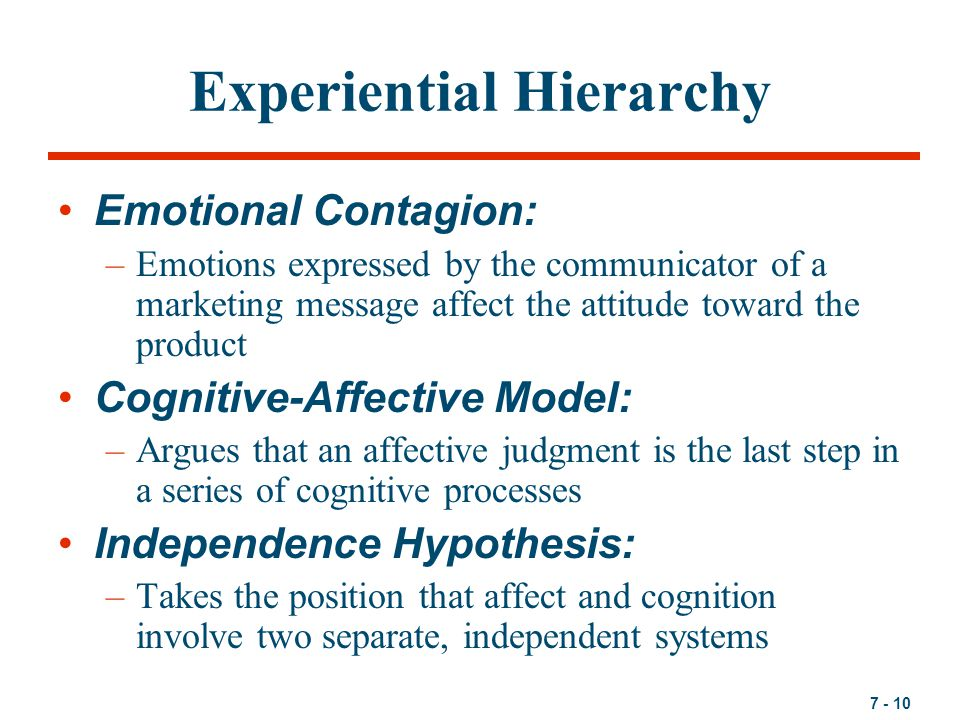 attitude formation affect and cognition Two experiments examined the hypothesis that the sequence of affect and  cognition in an attitude's formation is an important determinant of its subsequent.