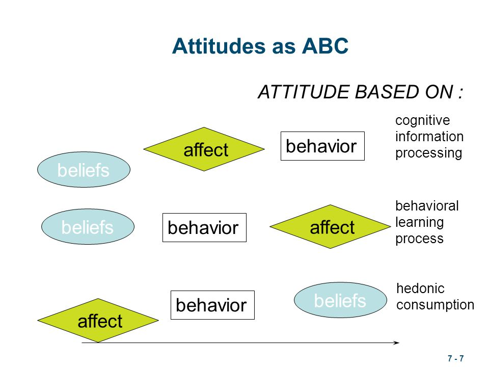 what can affect attitude and behavior I have never studied how people's attitudes can effect their behavior it amazes me how much our behavior can have such affect on our attitudes.