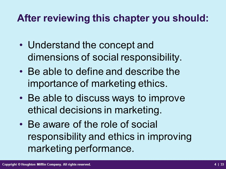 discuss the importance of ethics and social responsibility This paper discusses the importance of ethics and social responsibility in  and  discuss the core issues to be addressed, including: professional conduct,.