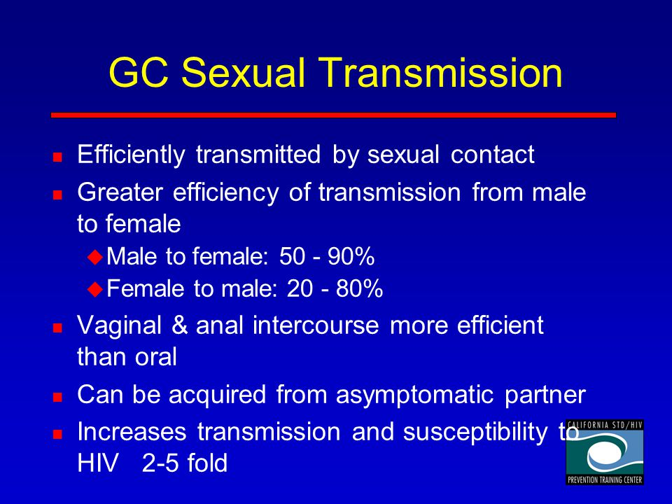 GC Sexual Transmission