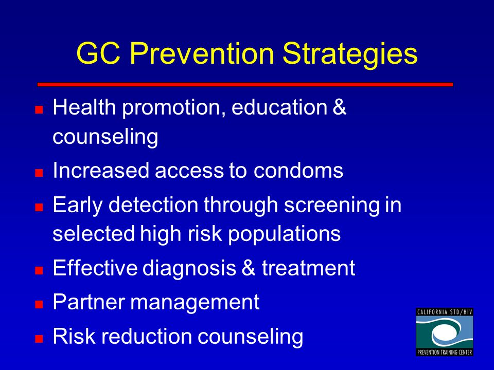 GC Prevention Strategies
