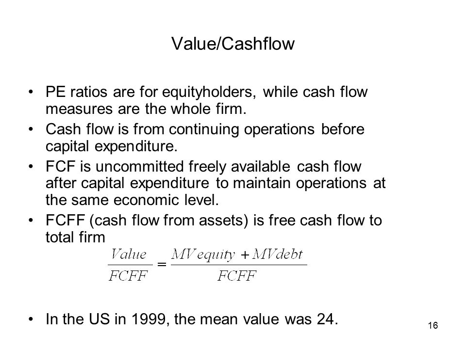 Valuing a company relative to another company - ppt download