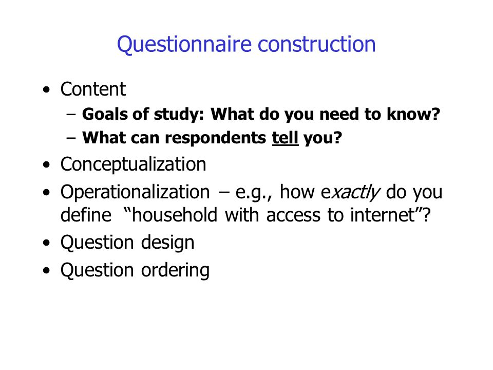 Surveying ppt video online download for Household survey questionnaire design
