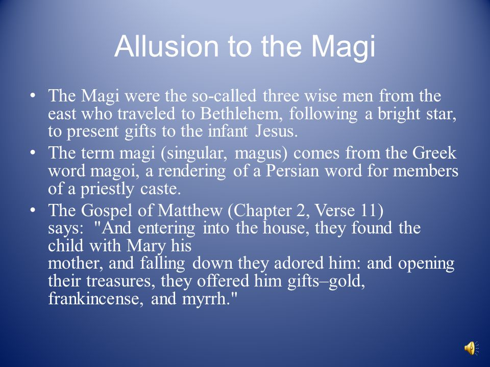 """The Gift of the Magi"""" By O. Henry. - ppt download"""