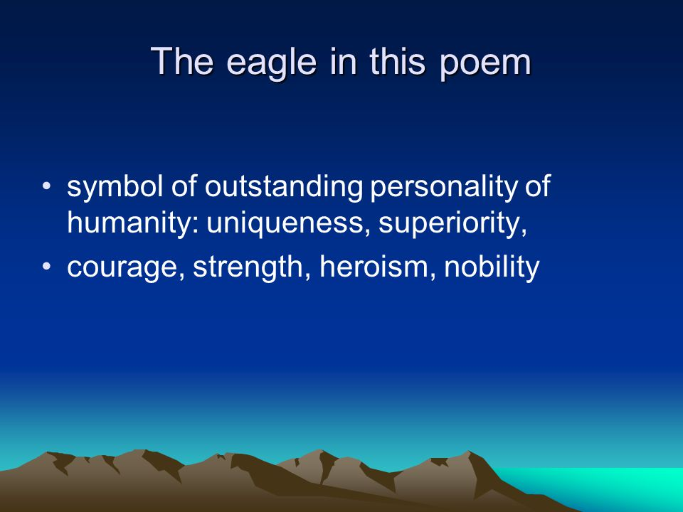 Hawk Roosting By Ted Hughes Ppt Video Online Download