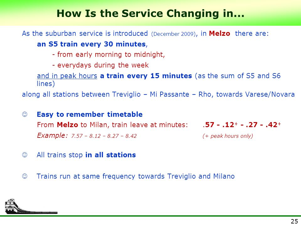 How Is the Service Changing in...