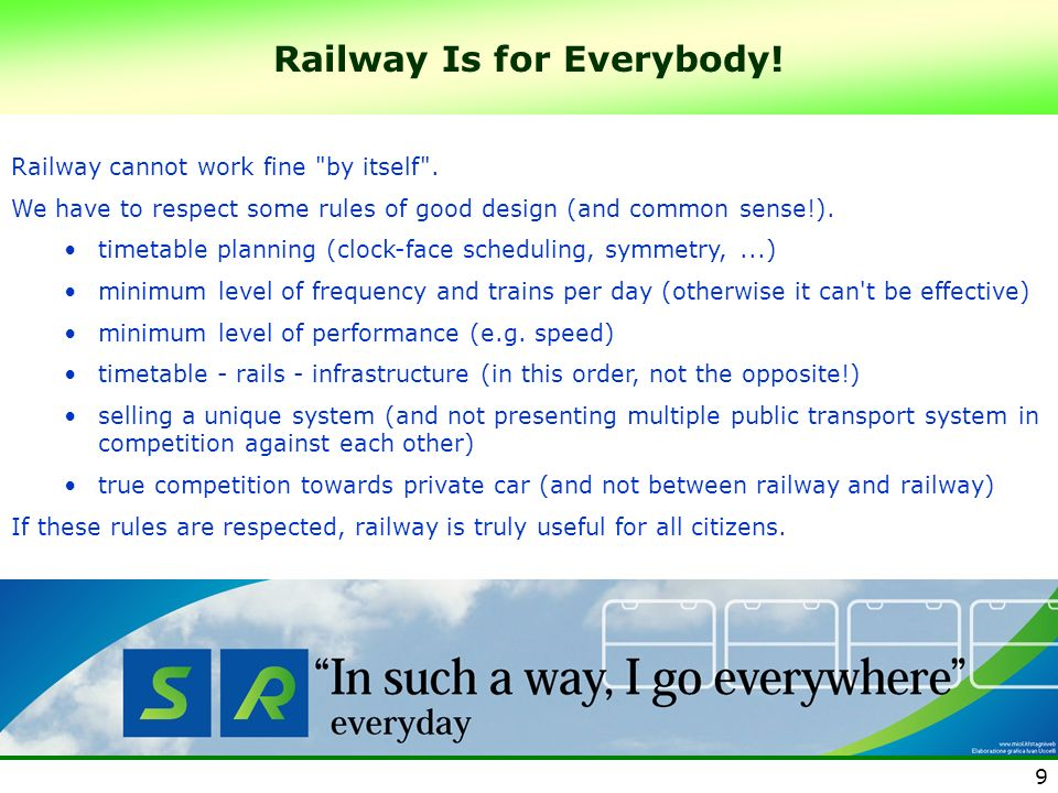 Railway Is for Everybody!